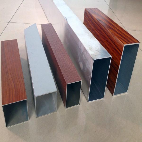 木纹铝方管型材