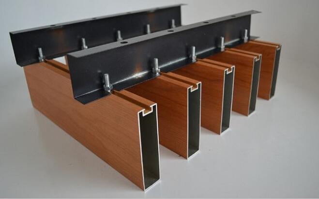 木纹铝型材铝方通