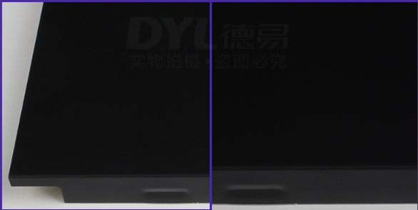 黑色铝扣板