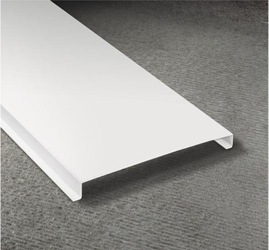 白色G型铝条扣