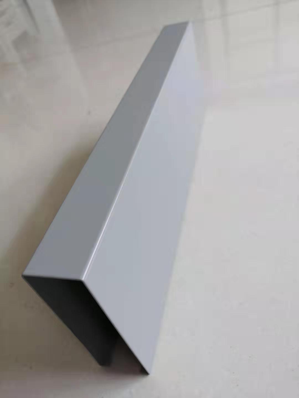 灰色铝方通