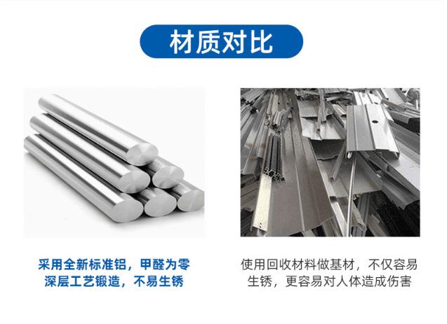 三角形铝格栅材质对比