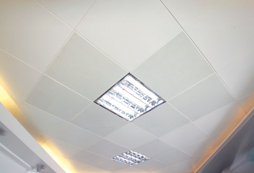 冲孔铝扣板吊顶