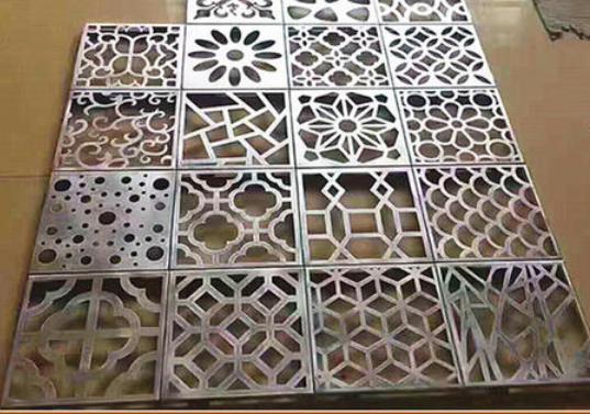 定制装饰雕花铝单板